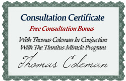 Tinnitus counseling